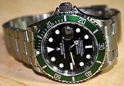 used rolex submariner 50th anniversary