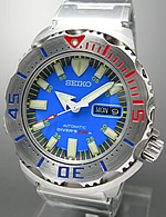 Seiko Blue Monster