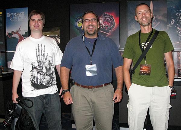 Riley, Doug, and Christian