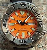 Seiko Orange Monster (SKX781)