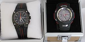 Seiko Sportura and Casio G-Shock